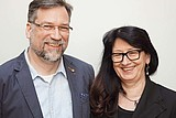 Portrait LOS Forchheim:  Birgit und Thomas Bareuther , Annika Daum