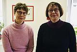 Portrait LOS Halle: Christiane Kuhl und Sandra Hesse